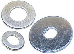 ALUMINUM WORKS WASHERS 6X25MM 10 pack