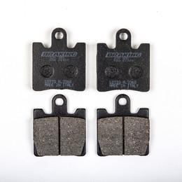 BRAKING HIGH PERFORMANCE BRAKE PAD SEMI-METALLIC (830SM1)