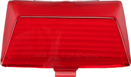 Harddrive Rear Fender Tip Light Replacement Lens Red (F51-0642LR)