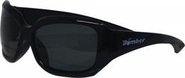 Bomber Sugar-Bomb Floating Sunglasses Gloss Black W/Smoke Lens - SG101