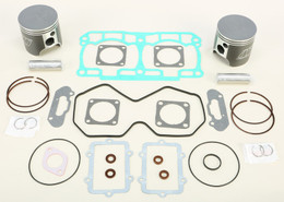 Wiseco Standard Bore S/M Piston Kit D Ual Ring - SK1399