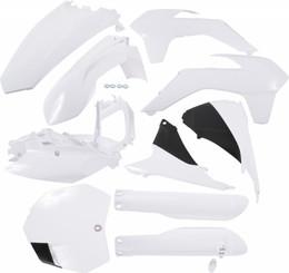 Acerbis Full Plastic Kit (White) - 2403090002
