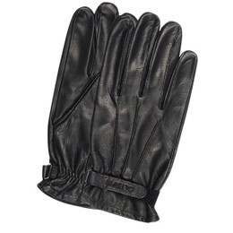 Olympia 100 Mens Roper I Leather Black Classic Gloves