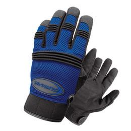 Olympia 760 Mens Air Force Gel Blue Mesh Sport Gloves