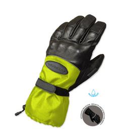 Olympia 4370 Mens Cold Throttle Hi-Viz Black Winter Gloves
