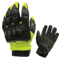 Olympia 734 Mens Digital Protector High Visibility Yellow Gloves