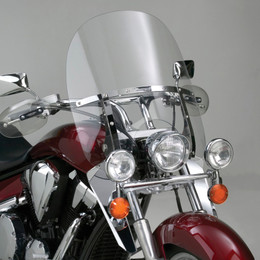 National Cycle Switchblade Windshield 2-Up (Clear) - N21111