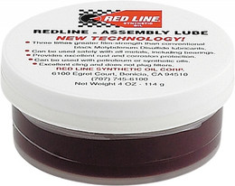 RED LINE ASSEMBLY LUBE 4OZ (80312)