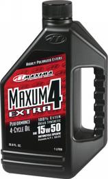 MAXIMA MAXUM 4 EXTRA 15W-50 LITER (32901)