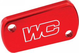 WORKS REAR BRAKE COVER (RED) (21-505 (RED))
