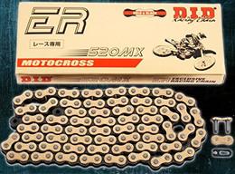 D.I.D Hi-Performance 520Mx 25' Racing Chain (Gold) - 520MX-25 FT