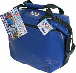 "AO COOLERS 36 PACK VINYL COOLER ROYAL BLUE 21""X10""X12"" (AOFI36RB)"