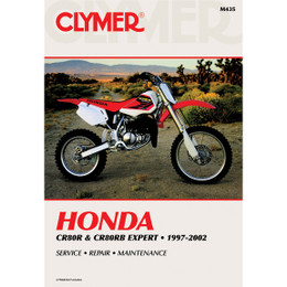 Clymer M435 Service Shop Repair Manual Honda CR80R 1997-2002