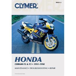 Clymer M441-2 Service Shop Repair Manual Honda CBR F2 / F3 1991-1998