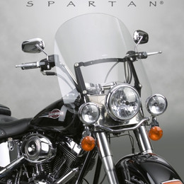 National Cycle Spartan Quick Release Windshield; Tall (Clear) - N21200