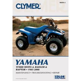 Clymer M499-2 Service Shop Repair Manual YFM80 MOTO-4 / Badger / Raptor 01-08