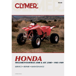 Clymer M348 Service Shop Repair Manual Honda Trx 4Trx / ATC 250R 85-89