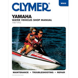 Clymer W805 Service Shop Repair Manual Yamaha Water Vehicles 87-92