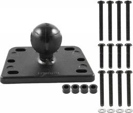 "Ram Brake/Clutch Cover Base 1"" Centered Ball - RAM-B-345U"