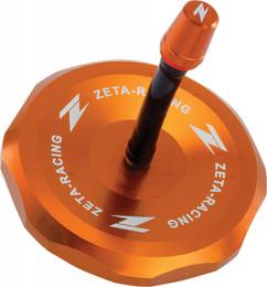 Zeta Billet Gas Cap (Orange) - ZE87-4108