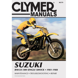 Clymer M369 Service Shop Repair Manual Suzuki 125-400cc