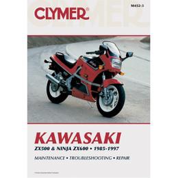 Clymer M452-3 Service Shop Repair Manual Kawasaki ZX500 / 600 Ninja 85-97