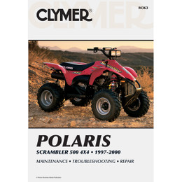 Clymer M363 Service Shop Repair Manual Pol Scrambler 500 ATV