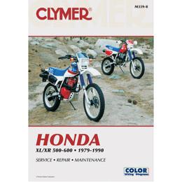 Clymer M339-8 Service Shop Repair Manual Honda XL/XR 500-600 1979-1990