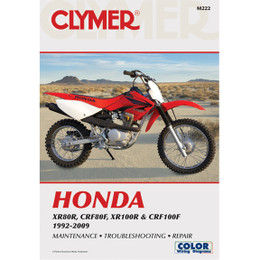 Clymer M222 Service Shop Repair Manual XR80R / CRF80F / XR100R / CRF100F 92-09