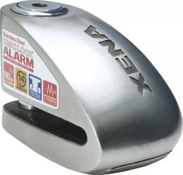 """Xena Xx6 Alarm Disc Lock 3.3"""" X 2.3"""" (Stainless Steel) - XX6-SS"""