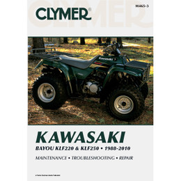 Clymer M465-3 Service Shop Repair Manual Kawasaki Bayou KLF220 / KLF250 88-10