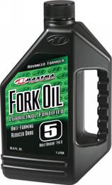 Maxima Fork Oil 5W 5Gal - 54505