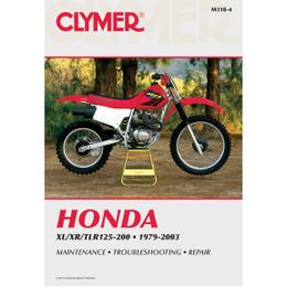 Clymer M318-4 Service Shop Repair Manual Honda XL/XR/TLR125-200 1979-2003
