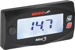 KOSO HONDA GROM MINI 3 AIR/FUEL RATIO GAUGE (BA003214)