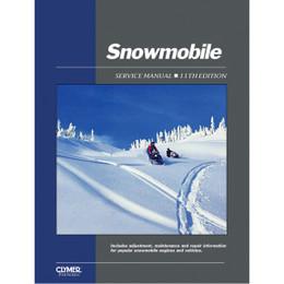 Clymer Cylmer SMS-11 Service Shop Repair Manual Snowmobile Service Ed 11