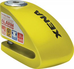 "XENA XX6 ALARM DISC LOCK 3.3"" X 2.3"" (YELLOW) (XX6-Y)"