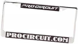 Pro Circuit License Plate Frame (Chrome) - PC1005-1300