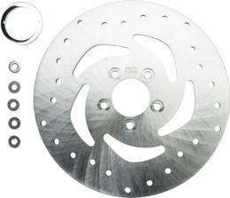 Harddrive Super Flow Brk Rr Rotor 10.5 Machinedxl 14-Up (144671)