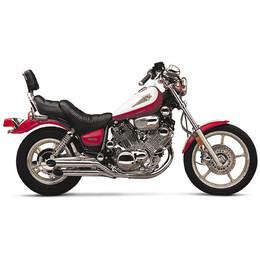 Jardine Rumbler Chrome 2:2 Full Exhaust Pipe Yamaha XV700/1000/1100 Virago 84-00