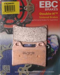 EBC Double-H Sintered Metal Brake Pads FA244HH