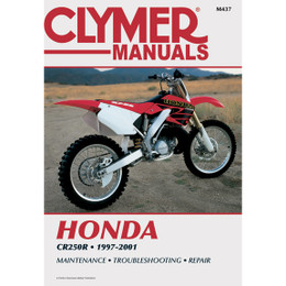 Clymer M437 Service Shop Repair Manual Honda CR250 1997-2001