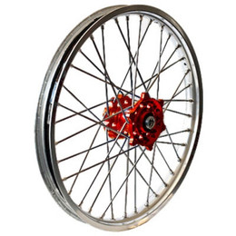 D.I.D Wheel 2.15X19 Red/Sil Crf450 '13 - 56-4156RS