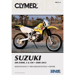 Clymer M477 Service Shop Repair Manual for Suzuki DR-Z400 00-12