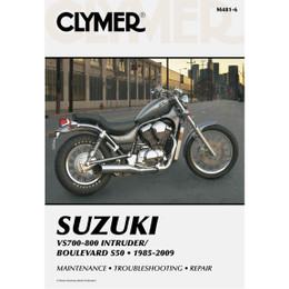 Clymer M481-6 Service Shop Repair Manual VS700-800 Intruder/Boulevard S50 85-07
