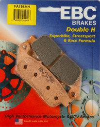 EBC Double-H Sintered Metal Brake Pads FA196HH