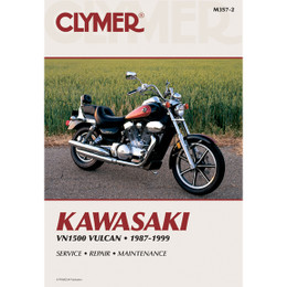 Clymer M357-2 Service Shop Repair Manual Kawasaki VN1500 1987-1999