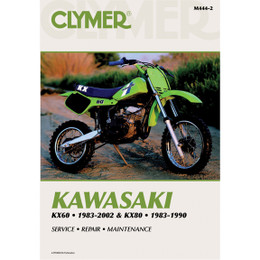 Clymer M444-2 Service Shop Repair Manual Kawasaki KX60 1983-2002 / KX80 83-90