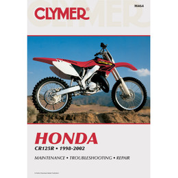 Clymer M464 Service Shop Repair Manual Honda CR125 1998-2002
