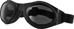 BOBSTER SUNGLASSES BUGEYE BLACK W/SMOK E REFLECTIVE LENS (BA001R)