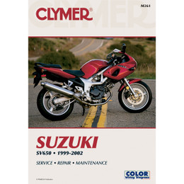 Clymer M361 Service Shop Repair Manual Suzuki SV650 1999-2002